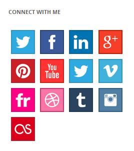 Social Icons - Widget Pack by ThematoSoup