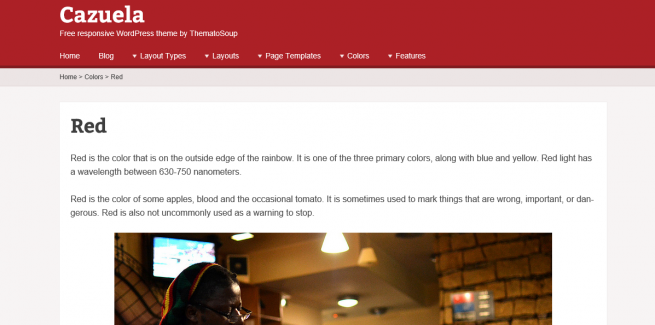 red-cazuela-free-responsive-wordpress-theme