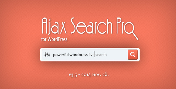 Ajax Search Plugin for WordPress