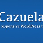 Cazuela, free responsive wordpress theme