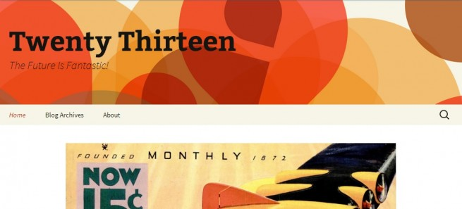 2013 WordPress Theme