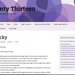Twenty Thirteen WordPress Child Theme