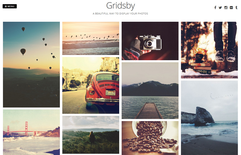Gridsby WP Theme