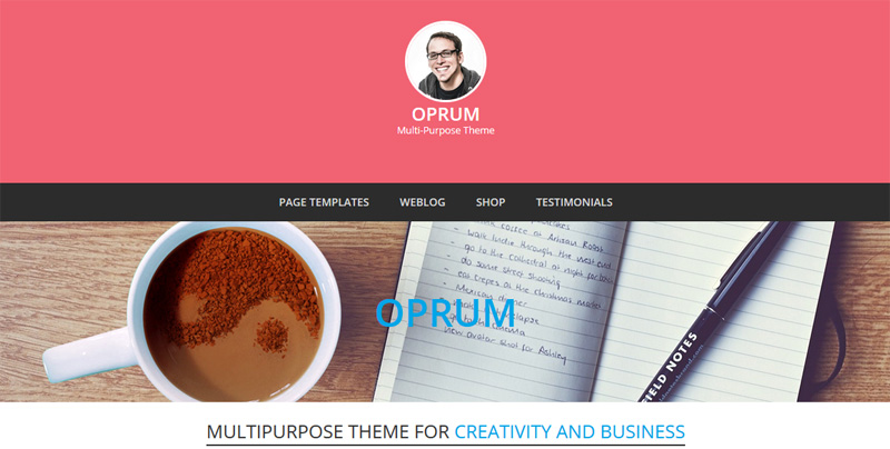 Free WordPress Theme with Customizer