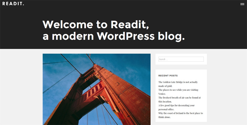 Readit WP Theme
