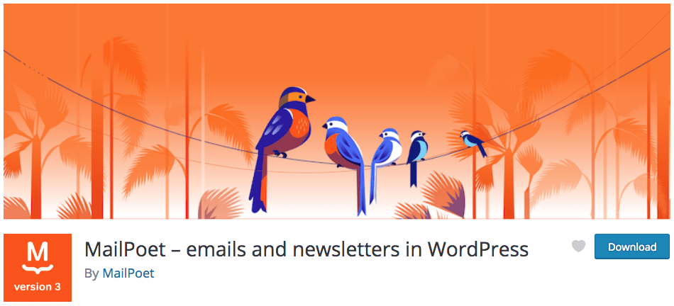 MailPoet Email Marketing WrdPress Plugin