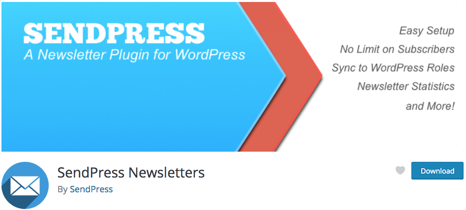 SendPress Free Email Marketing Plugin for WordPress