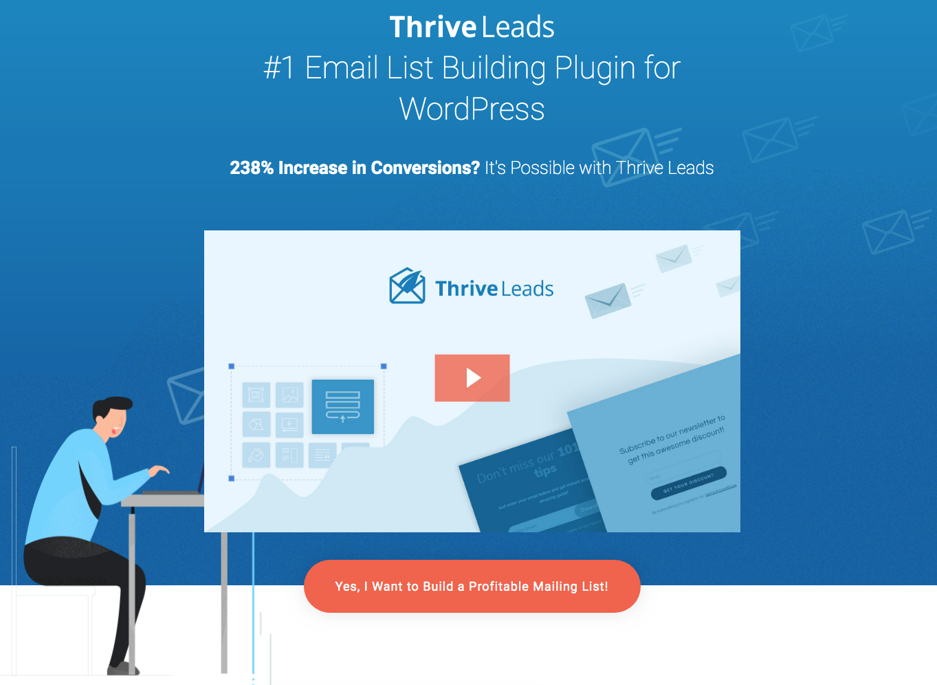 Thrive Leads Best List Building Plugins for WordPress