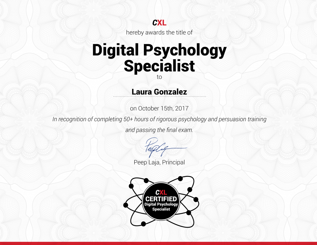Digital Psychology and Persuasion Specialist Specialist