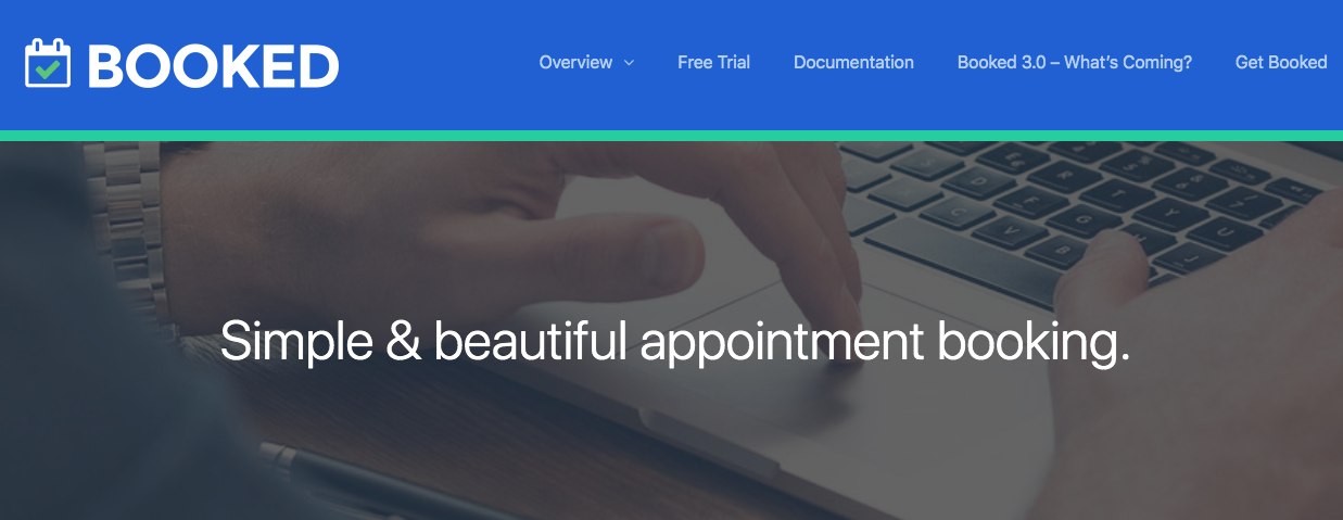 Booked, Premium WordPress Appointment Plugin